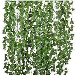 Other - 12 Strands Artificial Ivy Leaf Plants Vine Garland